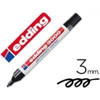 MARCADOR EDDING 3000 PRETO